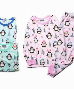 ست بلوز شلوار راحتی پنگوئن