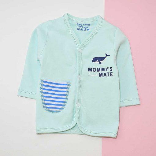لباس نوزادی طرح نهنگ کد 1181