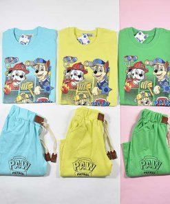 رنگبندی بلوز و شلوارک پسرانه سگ های نگهبان کد 217