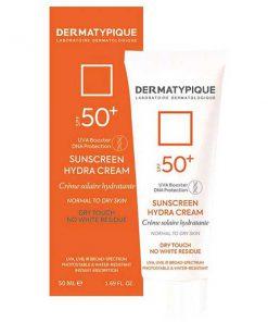 ضد آفتاب بی رنگ پوست خشک درماتیپیک SPF50