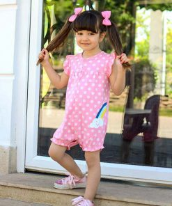 عکسمدل رامپر دخترانه رنگین کمان کد 1196