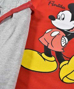 تیشرت شلوارک پسرانه بچه گانه طرح میکی موس 2210